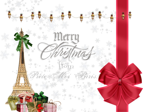Merry christmas from prete moi paris