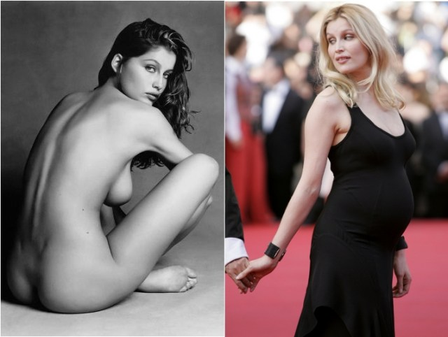 Latitia Casta : left 1997 right 2009