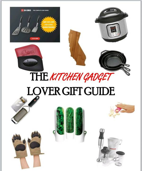 NEW on the blog! The Kitchen Gadget Lover Gift Guidehellip