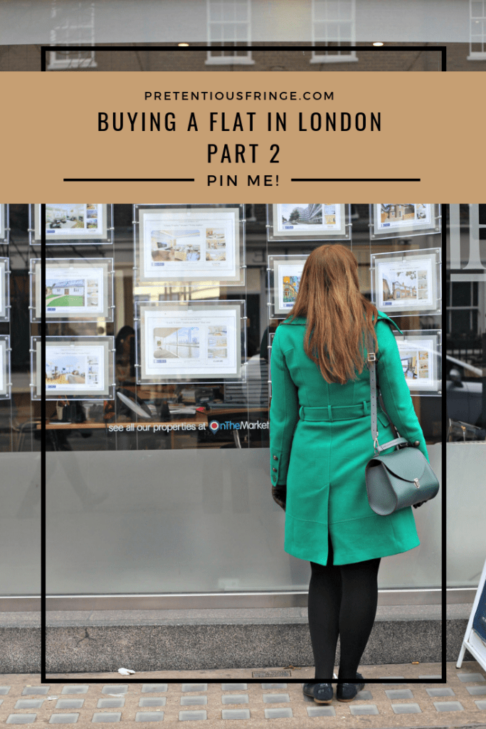 Buying A Flat In London - Part Two, pinterest image.