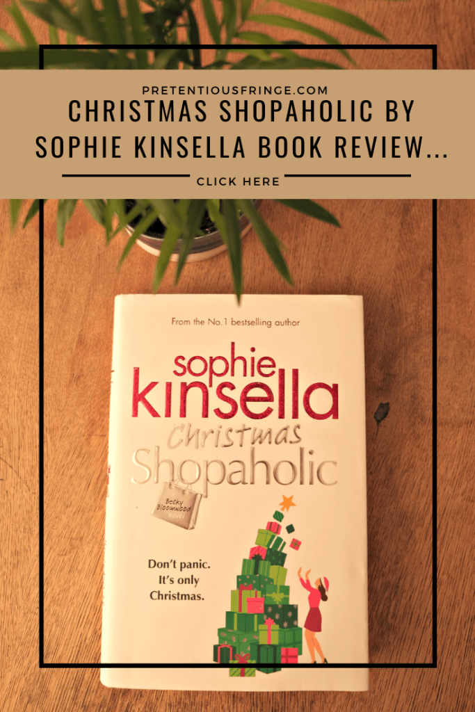 Pin Me! Christmas Shopaholic By Sophie Kinsella.