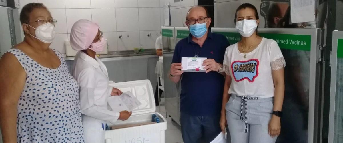Neste domingo (01) o NRS-Norte receberá mais uma remessa de vacinas contra a covid 19; para Juazeiro serão destinadas 3.430 doses