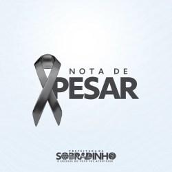 Prefeito de Sobradinho lamenta tragédia que tirou a vida do menino Guilherme Carvalho, de 11 anos, e se solidariza com seus familiares
