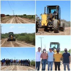 Governo Municipal realiza visita técnica ao Povoado de Pedra Branca