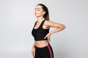 Muscles causing mid back pain – Trapezius