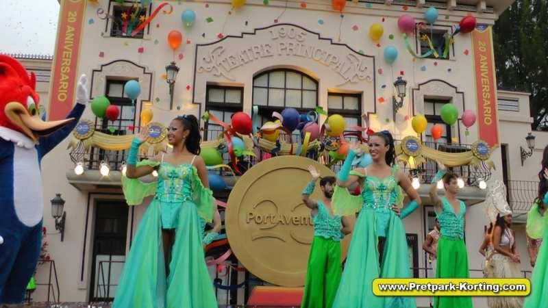 PortAventura pretpark - 20 anniversary parade 2015