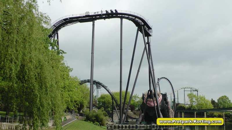 Heide-Park Krake dive coaster - achtbaan