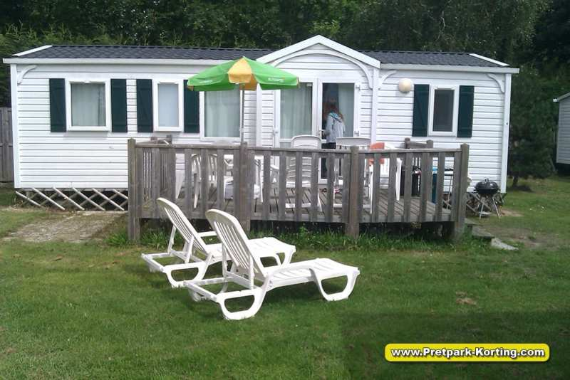 Vakantiepark Duinrell - Eurocamp Stacaravan - Pretpark-Korting.com