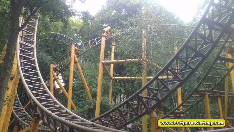 Attractiepark Duinrell - Falcon achtbaan - Pretpark-Korting.com