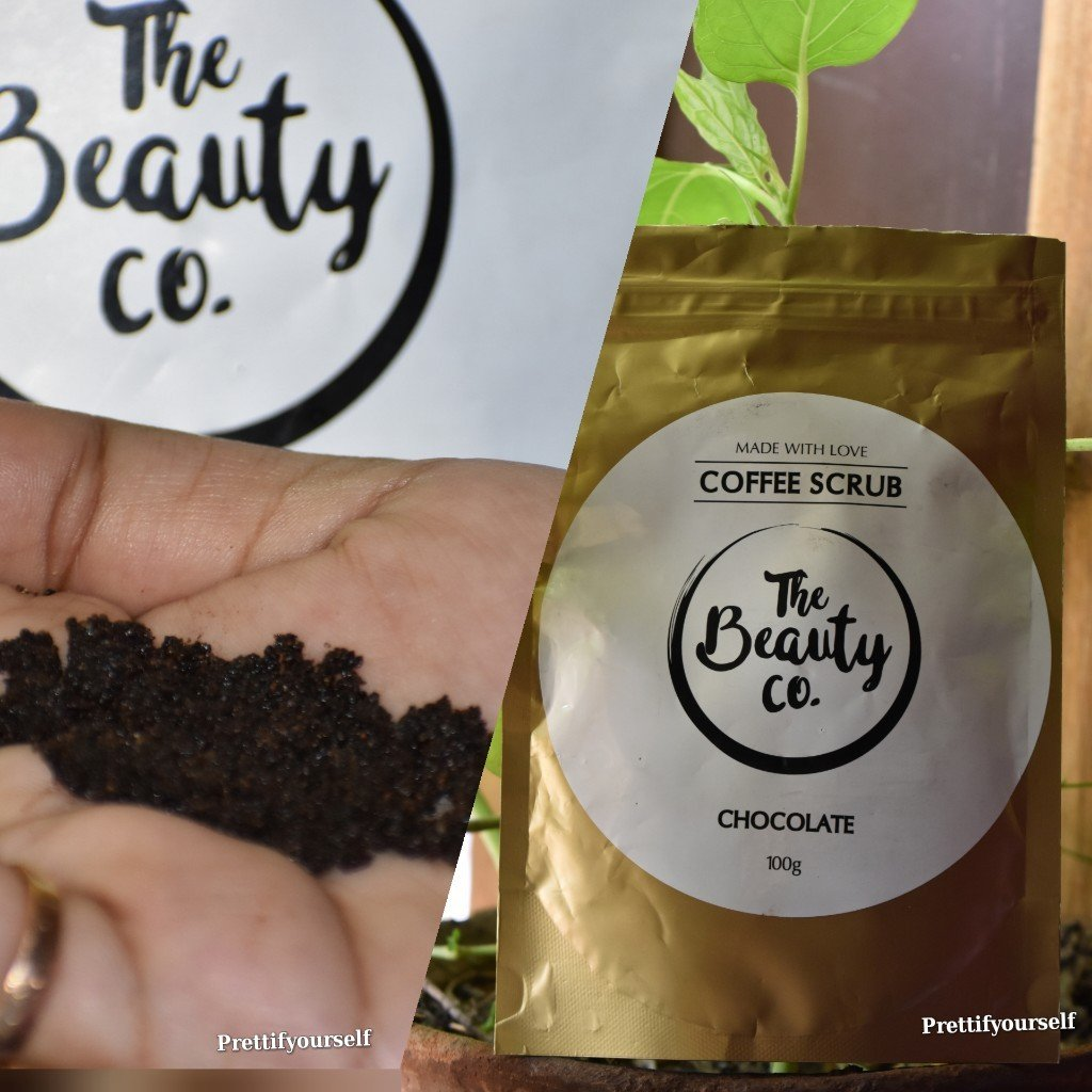 The Beauty Co Coffee Scrub Review Chocolate Prettifyourself