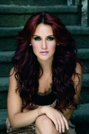 burgundy hair color red