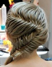 hairstyles with braids fishtail