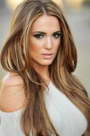 brown hair with highlights hairstyles