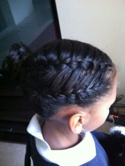 french braids black women