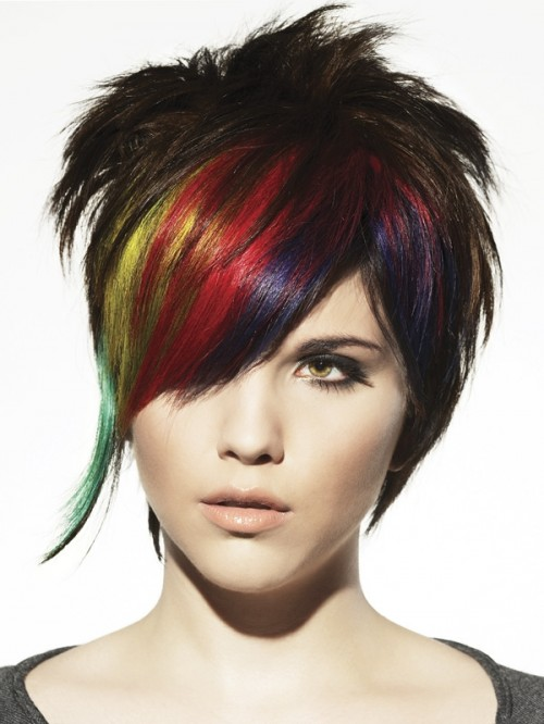 S Cute Hairstyles Punk Hairstyles L