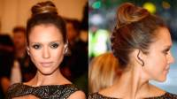 2014 Prettiest Updos For Medium Hair