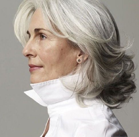 Easy Hairstyles For Gray Hair