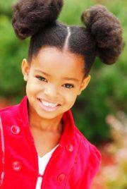kids natural school hairstyles