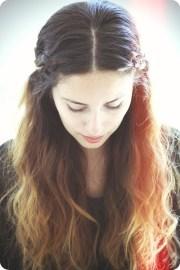 fancy ombre school hairstyles