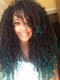 Amazing Ombre Highlights For Natural Curly Hair ...