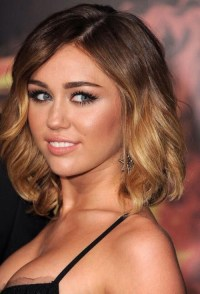 Miley Cyrus Diverse Short Hairstyles for Spring 2015 ...