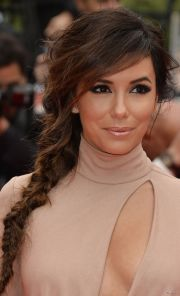 celebrity cute fishtail braids
