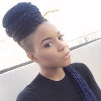 ALL HAIR MAKEOVER: Braids tapered cut