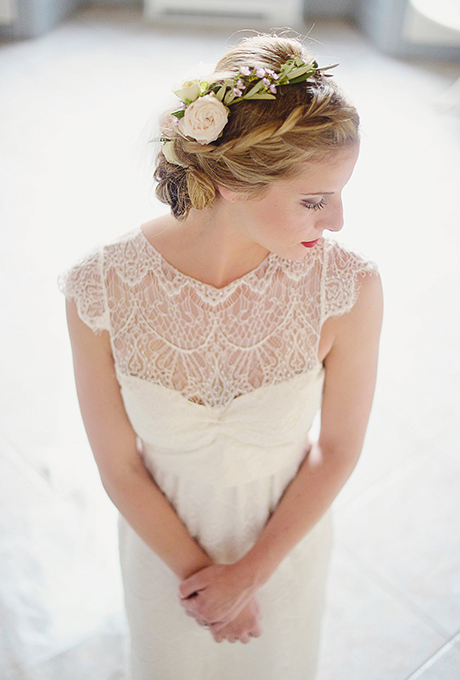 Summer Bridal Hairstyles With Flowers 2015  Hairstyles