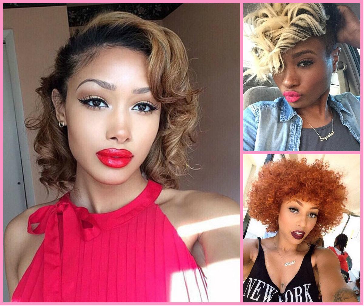 Stylish Short Haircuts For Black Women Hairstyles 2017 Hair