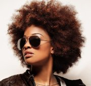 cutest afro hairstyles black