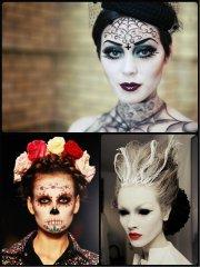 creepy hairstyles halloween