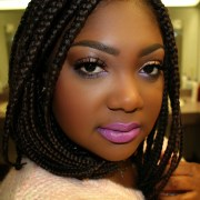 extra cool short box braids hairstyles