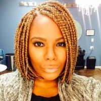 Short Individual Braids For Black Women