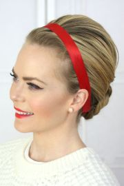 chic christmas party hairstyles
