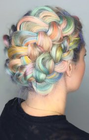 rainbow hair colors holidays