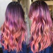rainbow hair colors holidays