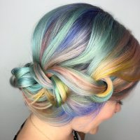 Rainbow Hair Colors for Holidays 2016 | Hairstyles 2017 ...