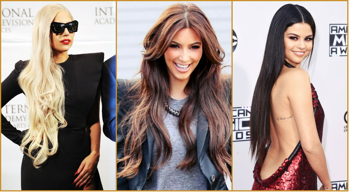 Spectacular Celebrity Long Hairstyles  Hairstyles 2017
