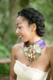 charming black women wedding hairstyles