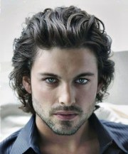 flirty wavy hairstyles men