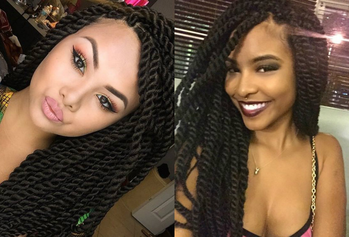 Black Hairstyles Twists