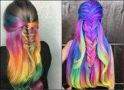 impressive pastel color braids