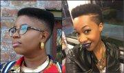 black women fade haircuts