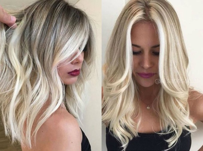 the perfect medium blonde hairstyles 2017 | pretty