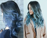 Sea and Sky Blue Hair Color 2017 You Will Adore | Pretty ...