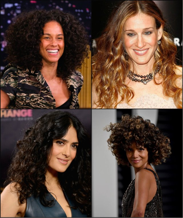 10 trendiest celebrity curly hairstyles ideas | pretty