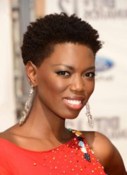 black women short afro hairstyles