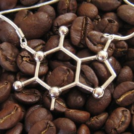 Made with Molecules Caffeine Necklace
