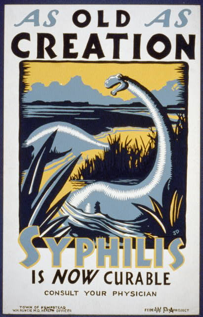 As old as creation / Syphilis is now curable