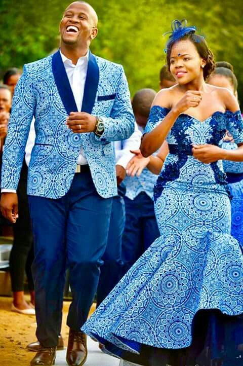 Tswana Traditional Attire 2019 For South African Women - Pretty 4-4079